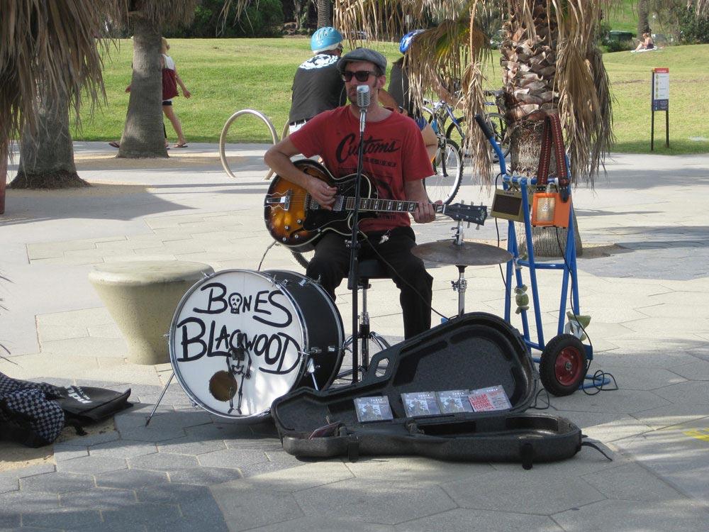 Bones-Blackwood-busking