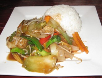 tofu-vegetables-mongolian-sauce