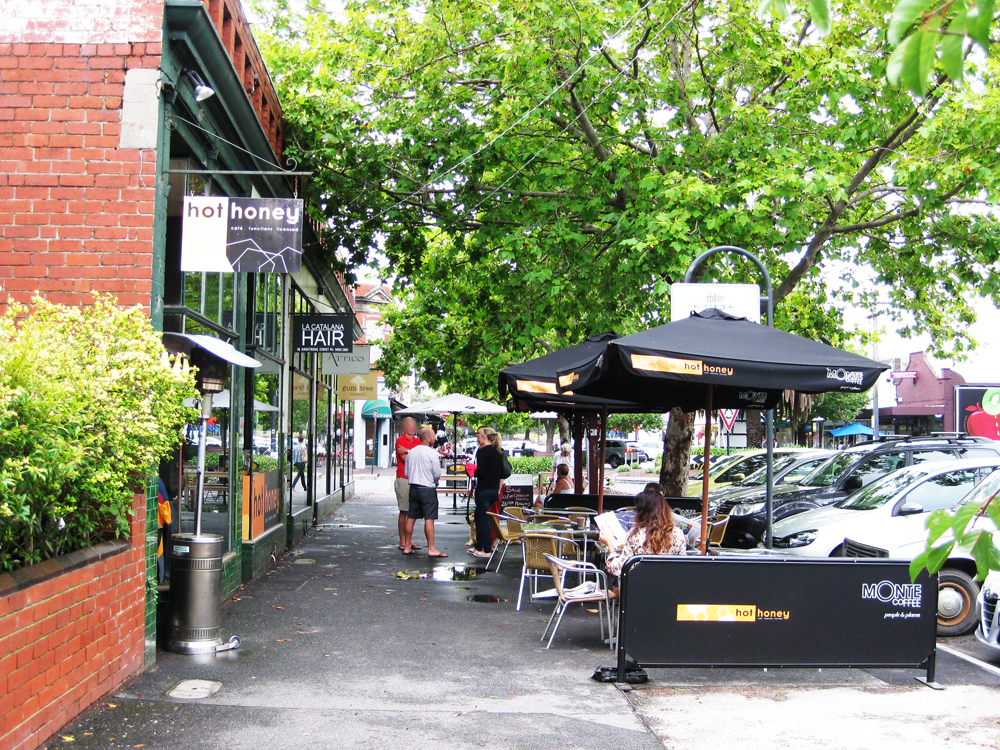 Cafe Armstrong Street Middle Park