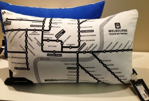 Train-network-cushion