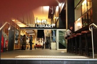 Libaray-entrance