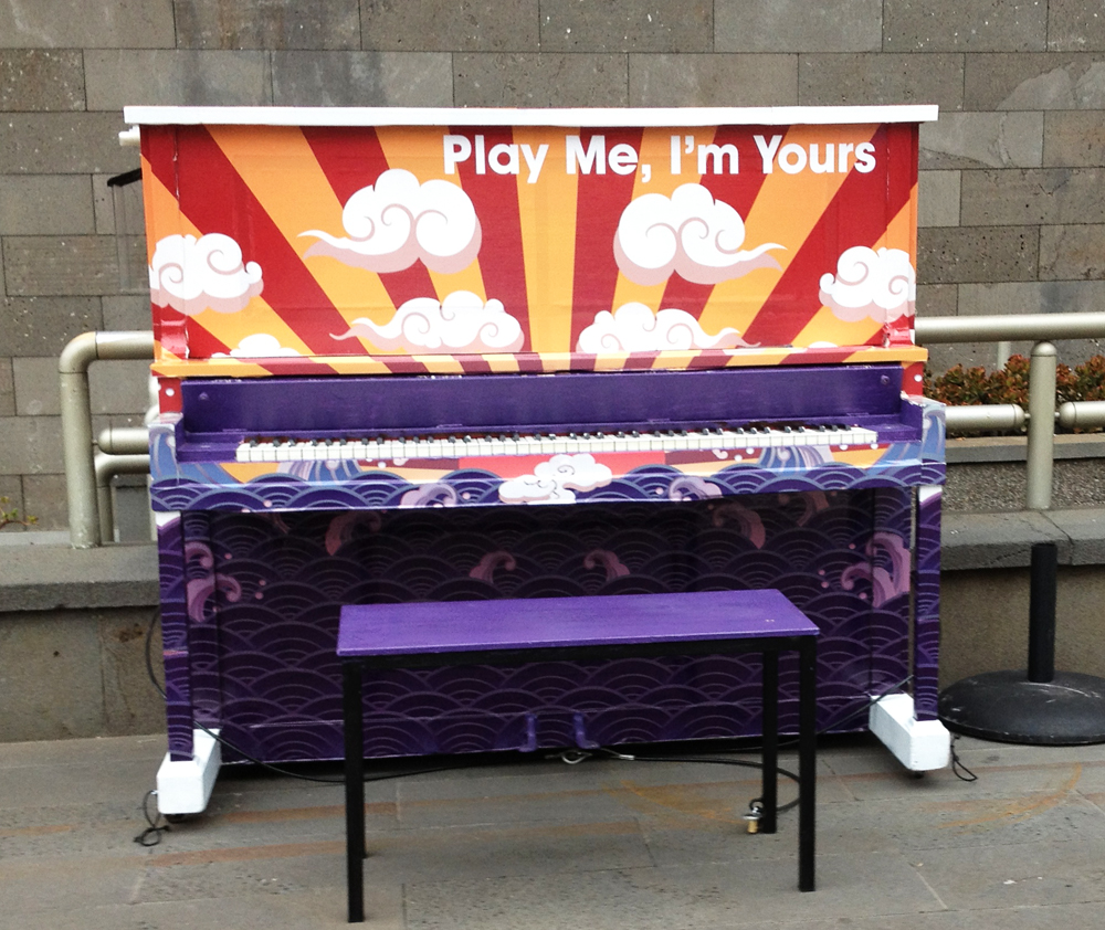 play me i m yours the joy of piano music in the cbd melbourne places. Black Bedroom Furniture Sets. Home Design Ideas