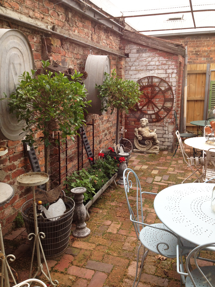 French and co in carlton north melbourne places for French country courtyard