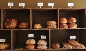 A selection of the bread
