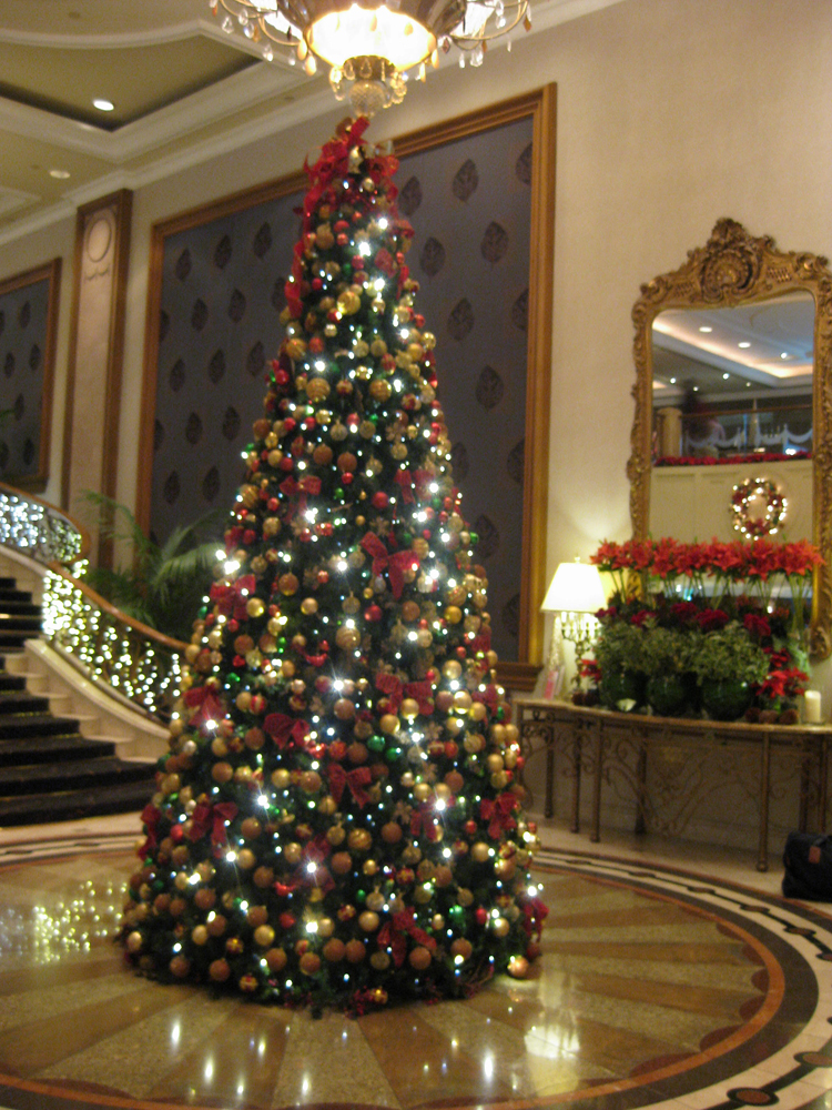 Christmas In The Melba Room At The Langham Hotel
