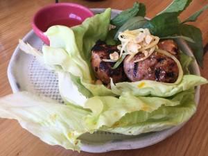 Vietnamese pork-meat balls