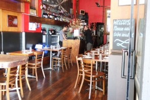 Barcelona Cafe – the Spanish Tapas Restaurant in St Kilda, at the sea-end of Fiztroy Street.