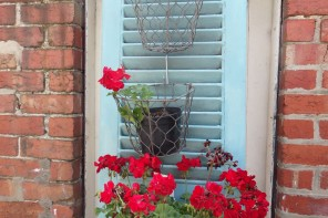 French-shutter-painted-with-Chalk-PaintTM