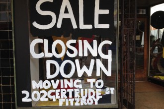Closing-down