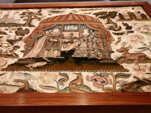 English Embroidery from the 1600s