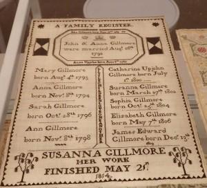 Family register from 1814