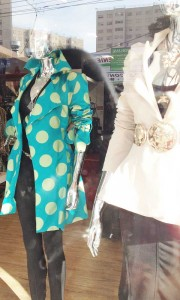 A beautiful coat on Chapel Street South Yarra