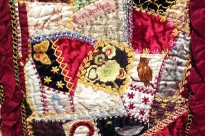 Making the Australian Quilt at the Ian Potter Centre, Federation Square, Melbourne CBD