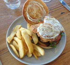 Fried Chicken Hamburger