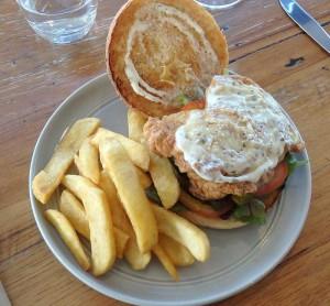 Fried Chicken Hamburger