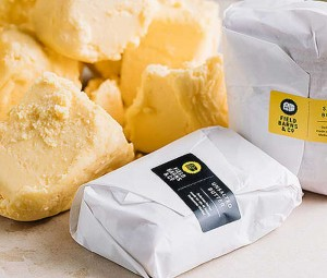 Field, Barns & Co butter made on site at the South Melbourne Market