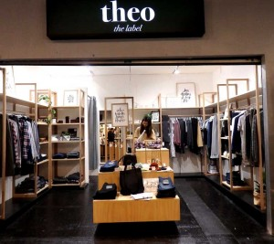 Theo only uses fabric and manufacturing where that they  can trace the history of the sourses and approve of it.